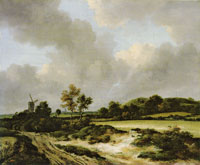 Jacob van Ruisdael - Grainfields