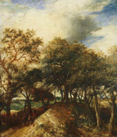 Jan Lievens Dune Landscape with Trees
