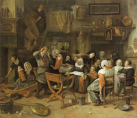 Jan Steen Twin Birth Celebration