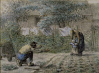 Jean François Millet - First Steps