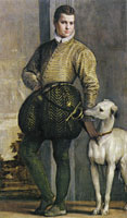 Paolo Veronese Boy with a Greyhound