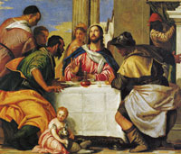 Paolo Veronese Supper at Emmaus