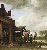 Paulus Potter The Blacksmith