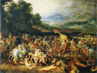 Peter Paul Rubens and Jan Brueghel the Elder The Battle of the Amazons