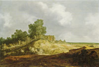 Pieter de Molijn Landscape with a Cottage