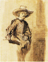 Rembrandt A Syndic Standing
