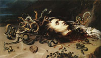 Peter Paul Rubens and Frans Snyders The Head of Medusa