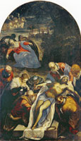 Tintoretto and workshop Entombment