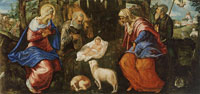 Tintoretto Nativity