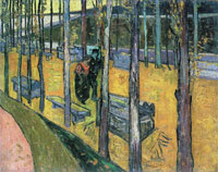 Vincent van Gogh The Alyscamps, Avenue at Arles