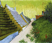 Vincent van Gogh Street in Saintes-Maries