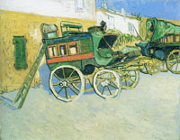 Vincent van Gogh The Tarascon Stagecoach