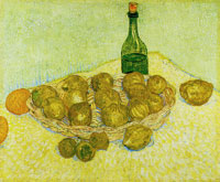 Vincent van Gogh Basket with Lemons