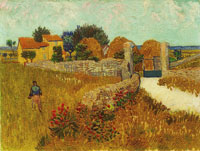 Vincent van Gogh Farmhouse in Provence