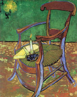 Vincent van Gogh Gauguin's Chair