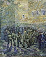 Vincent van Gogh after Gustave Dore Prisoners Round