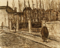 Vincent van Gogh Old Street (The Paddemoes)
