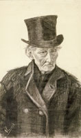 Vincent van Gogh Orphan Man with Top Hat