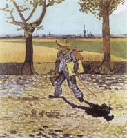 Vincent van Gogh The Painter on the Road to Tarascon