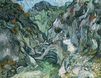 Vincent van Gogh A Path Through the Ravine