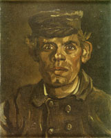 Vincent van Gogh Peasant, Head