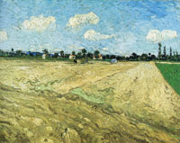 Vincent van Gogh Plowed Field
