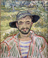 Vincent van Gogh Portrait of a Farmer