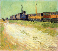 Vincent van Gogh Railway Carriages
