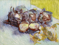 Vincent van Gogh Red Cabbages and Onions