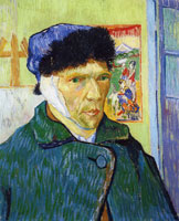 Vincent van Gogh Self-portrait with a Bandaged Ear