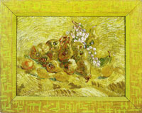 Vincent van Gogh White Grapes, Apples, Pears, Lemons, and Orange