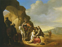 Willem de Poorter Pantheia and Kyros with the Body of Abradates