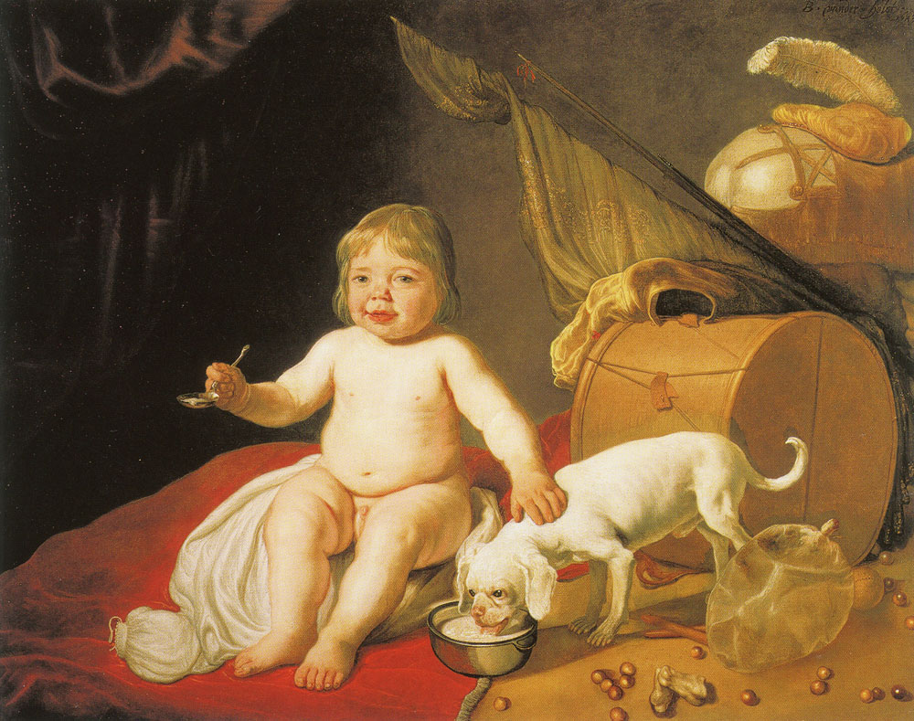 Bartholomeus van der Helst - Boy with Spoon