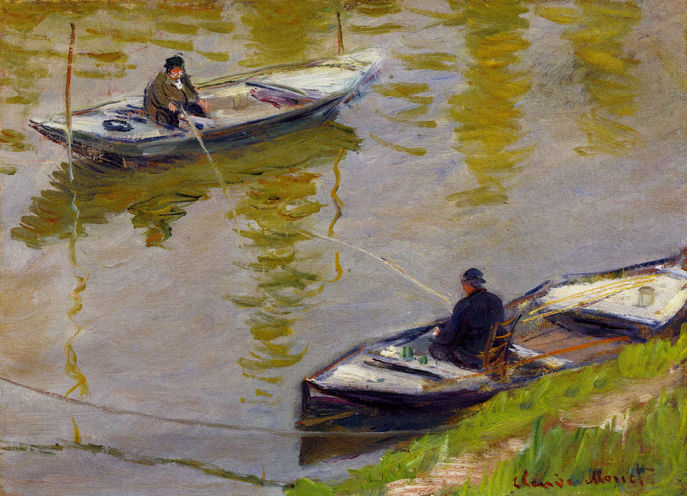 Claude Monet - The Two Anglers