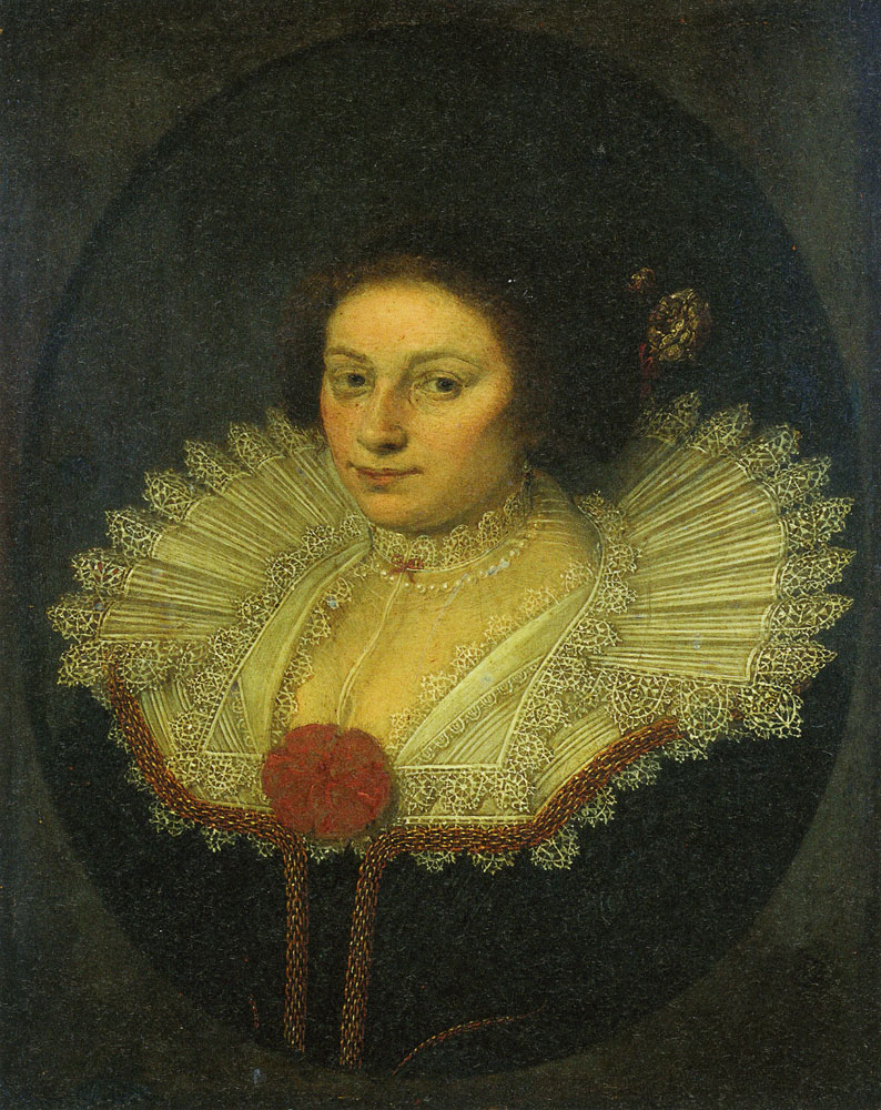 David Bailly - Portrait of Aertje Witsen