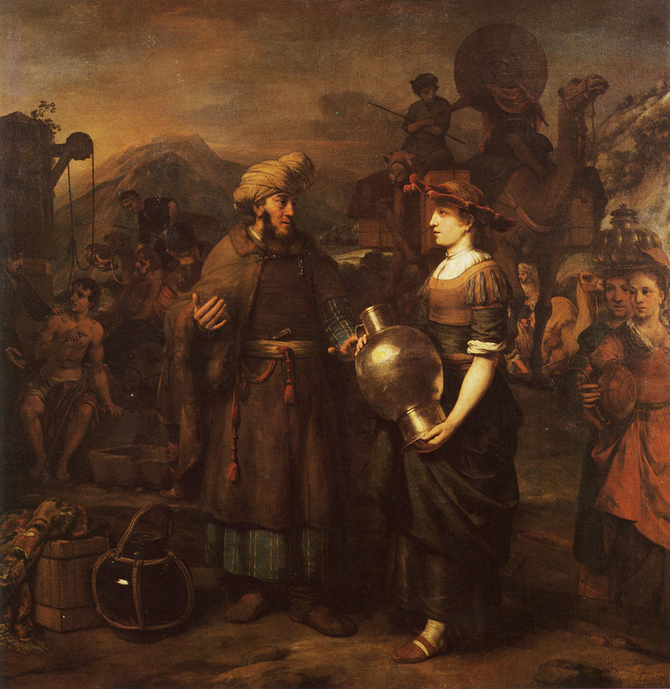 Gerbrand van den Eeckhout - Eliezer and Rebecca at the Well