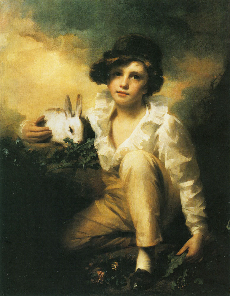 Henry Raeburn - Henry Raeburn Inglis, 'Boy and Rabbit'