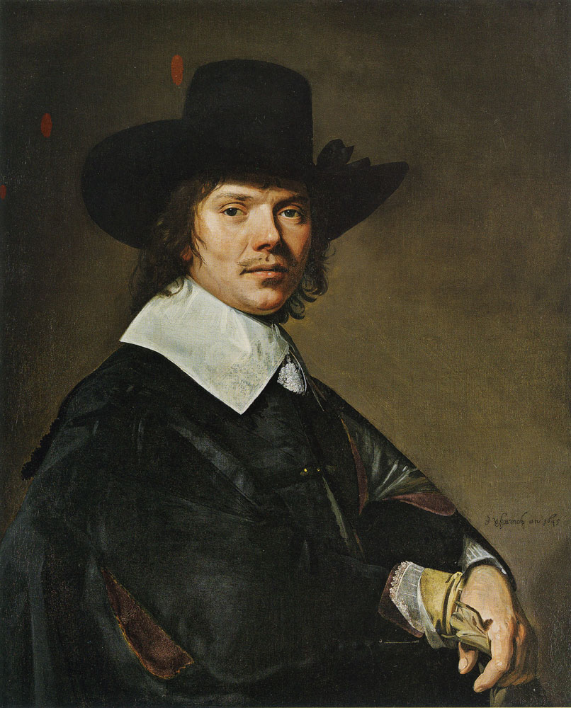 Johannes Verspronck - Portrait of a Man
