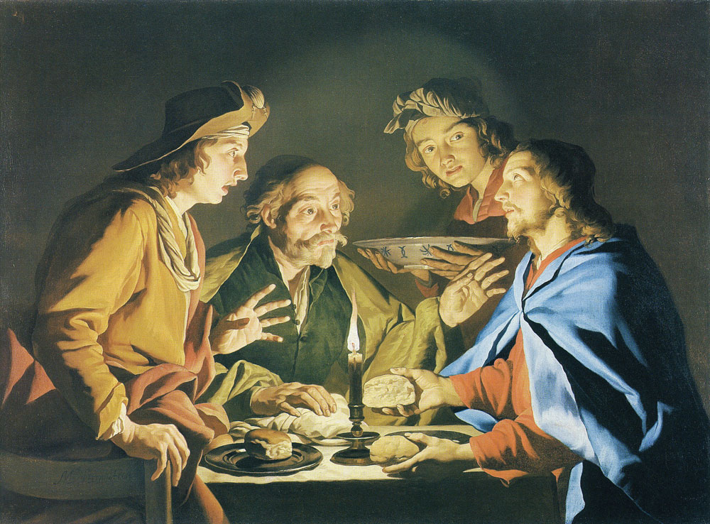 Matthias Stom - The Supper at Emmaus