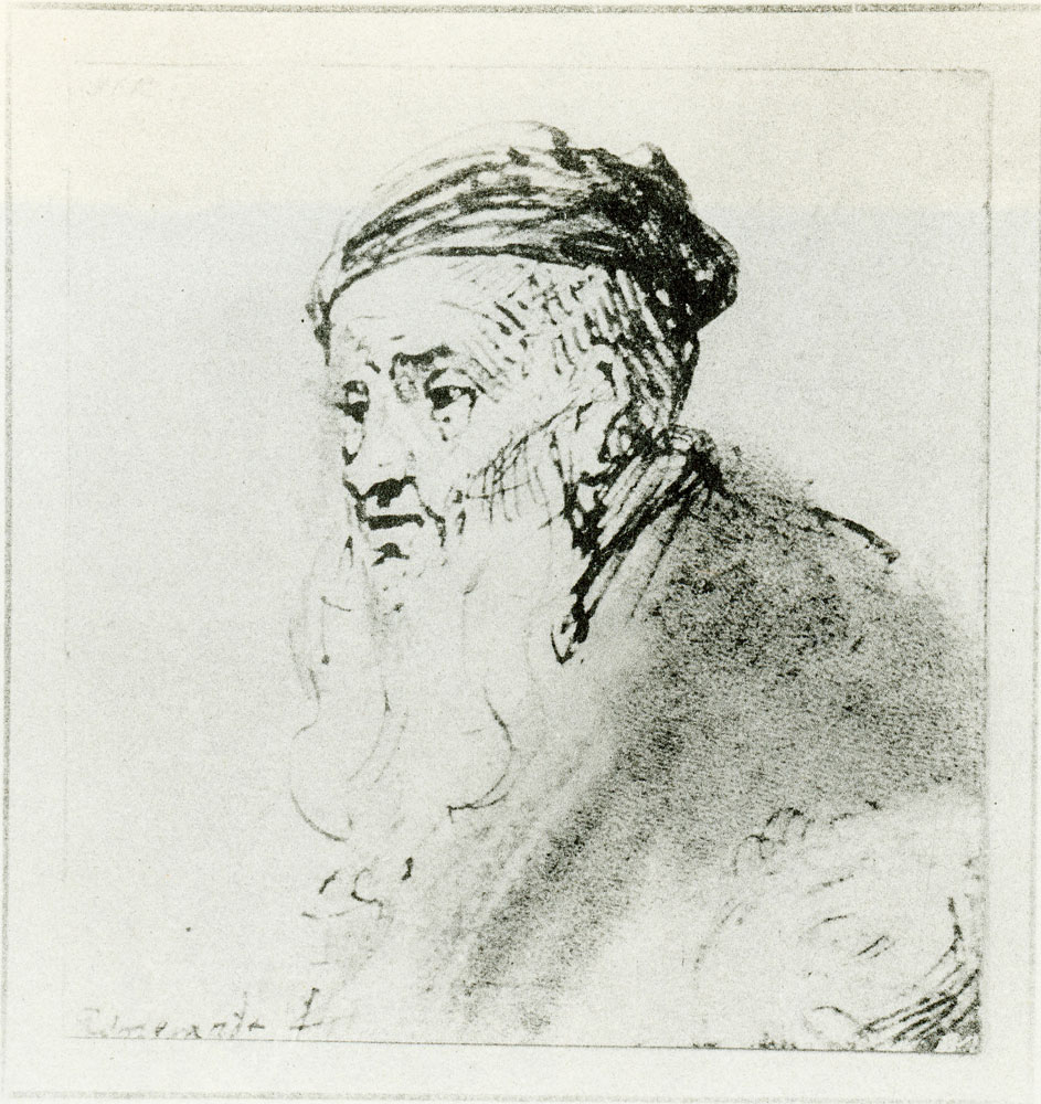 Rembrandt - Old Man with Long Beard and Flat Cap