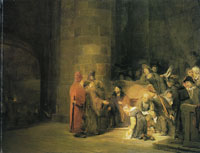 Arent de Gelder Christ and the woman taken in adultery