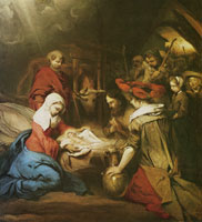 Barend Fabritius The Adoration of the Shepherds