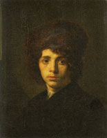 David Bailly Young Man with a Fur Hat