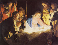 Gerard van Honthorst The Adoration of the Shepherds
