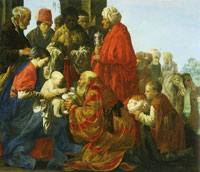 Hendrick ter Brugghen The Adoration of the Magi
