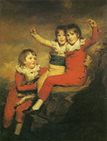 Henry Raeburn Ranald Macdonald, Robert Macdonald and Donald Macdonald, 'The Macdonald Children'