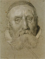 Jacob Backer Head of an Old Man