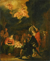 Pieter Codde The Adoration of the Sheperds