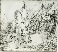 Rembrandt The Baptism of the Eunuch