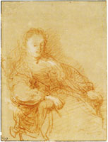 Rembrandt A Woman Seated in an Armchair